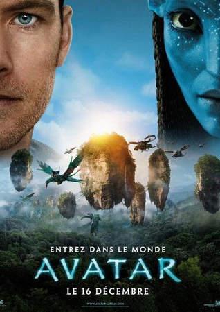 Póster de Avatar de James Cameron