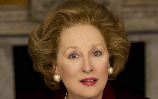Meryl Streep es Margaret Thatcher