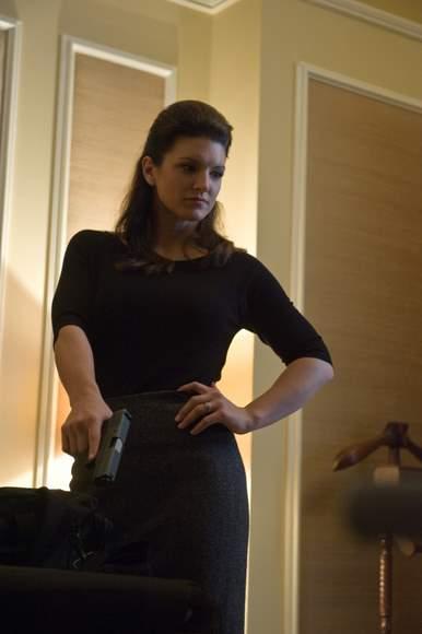 Gina Carano muy sexy.