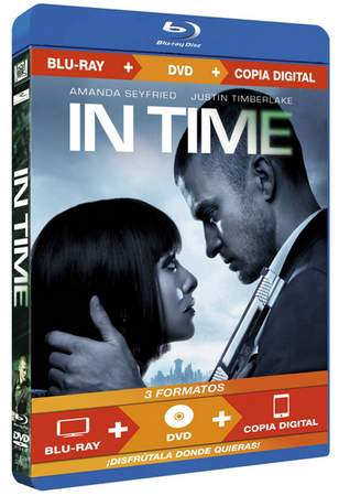 Blu-Ray de In Time.