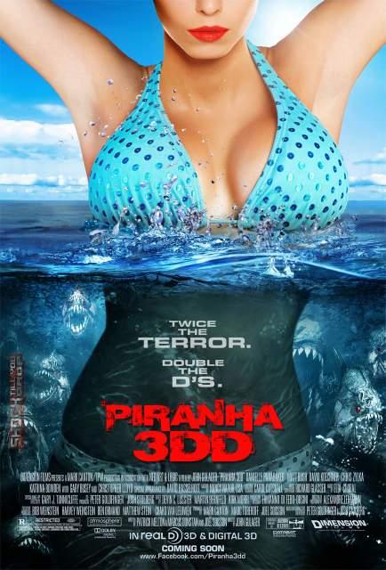 Póster de Piraña 3DD.