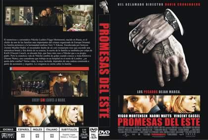 DVD Promesas del este.