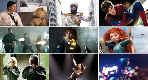 Las películas imprescindibles del verano 2012.