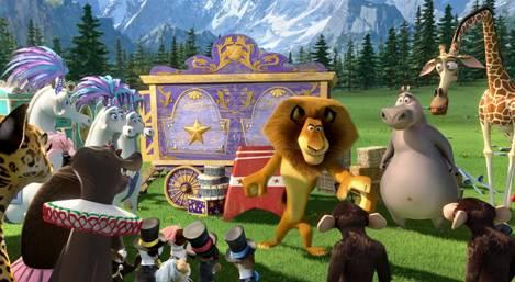 Madagascar 3. De marcha por europa.
