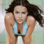 Michelle Rodriguez muy sexy.