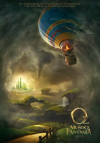 Póster de 'Oz: Un mundo de fantasía'.