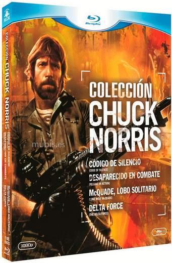 Chuck Norris en Blu-ray.