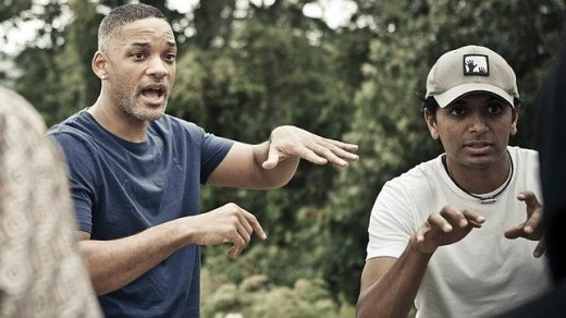 shyamalan y will smith en after earth.
