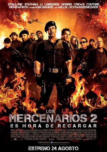 Póster de Los Mercenarios 2.