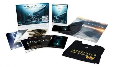 Prometheus en diciembre en Blu-ray y DVD.