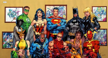 La Liga de la justicia.