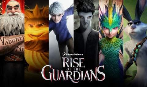 El Origen de los Guardianes, banner.