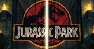 Jurassic Park 3D, banner.