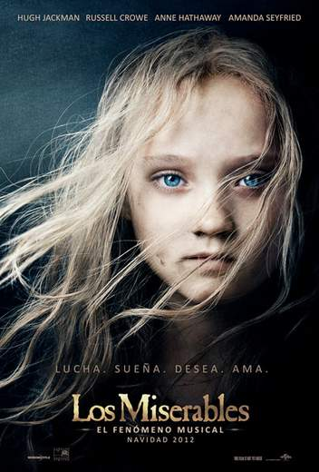 Póster de Los Miserables.