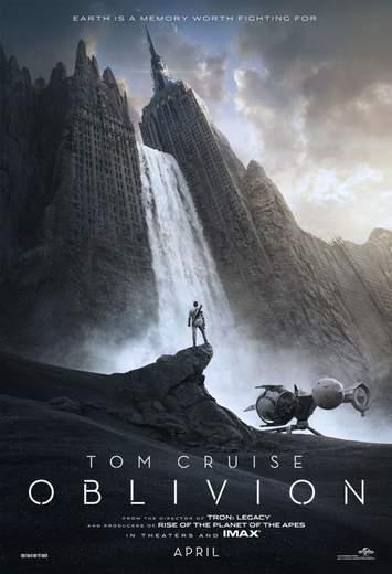 Oblivion, póster.