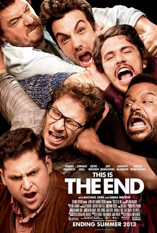 Póster de This is the end.