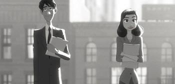 Cortometraje animado Paperman