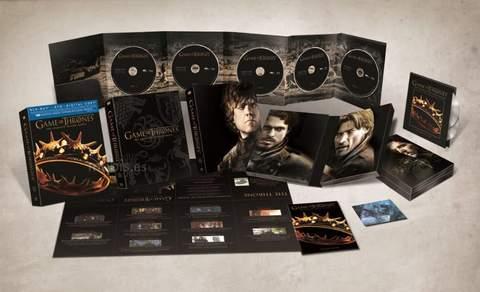 Blu-ray de Juego de tronos segunda Temporada