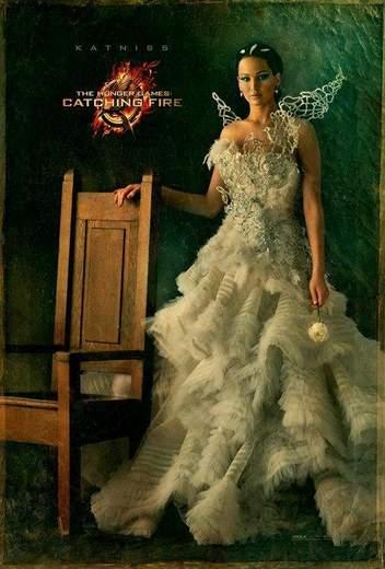 Jennifer Lawrence en Los Juegos del Hambre: En Llamas