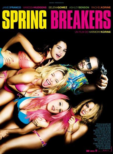 Póster de Spring Breakers