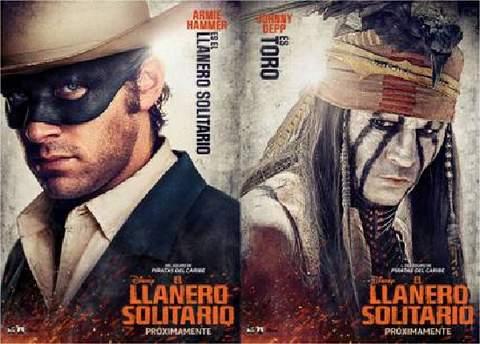 """""""El Llanero solitario"""", personajes"""