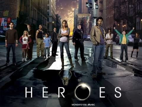 """Serie de TV """"Héroes""""."""