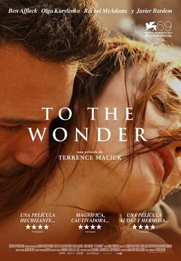 "Póster de ""To the Wonder""."