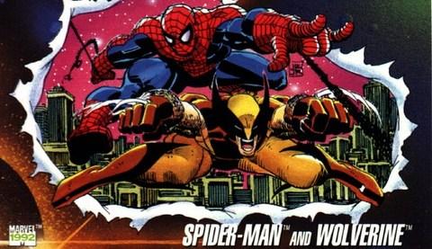 Imagen Lobezno y Spider-Man