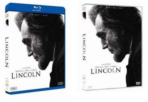 "Blu-ray y DVD ""Lincoln""."