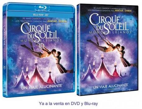 """Carátulas de """"Cirque Du Soleil""""."""