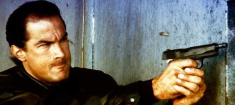 """Steven Seagal en """"Los Mercenarios 3""""."""
