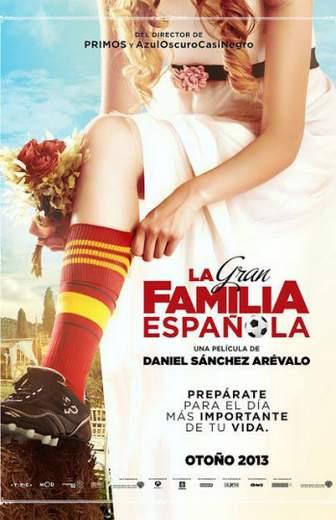 """Póster de """"La Gran Familia Española""""."""