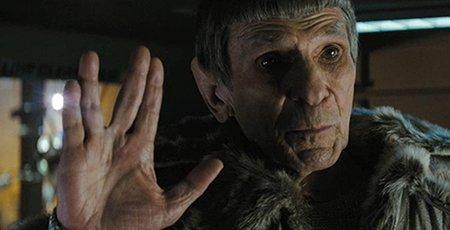 """Imagen de Spock en """"Star Trek""""."""
