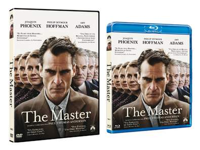 "Carátulas DVD y Blu-ray de ""The Master""."