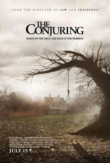 "Póster de ""Expediente Warren: The Conjuring""."