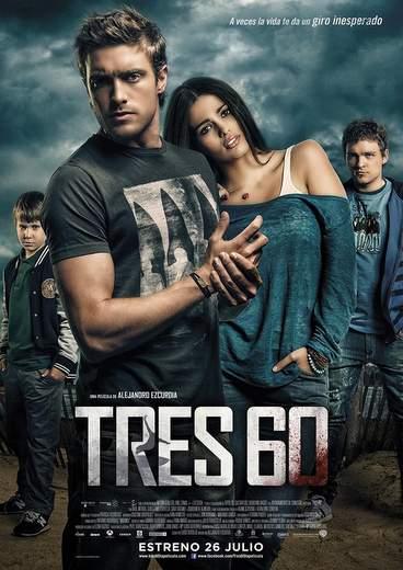 "Póster de ""Tres 60""."