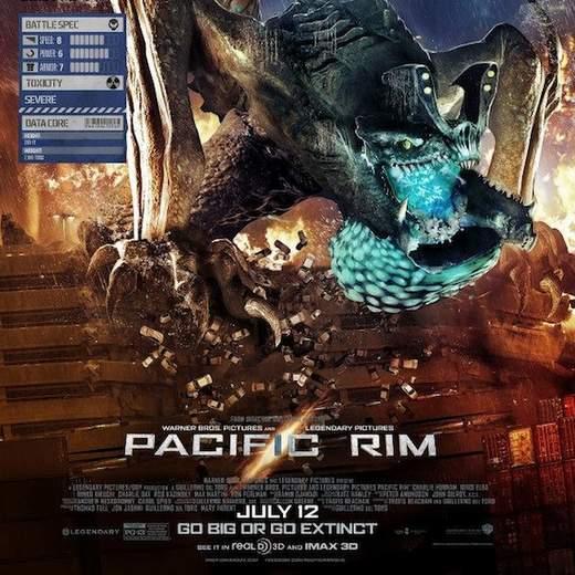 """Póster de """"Pacific Rim""""."""