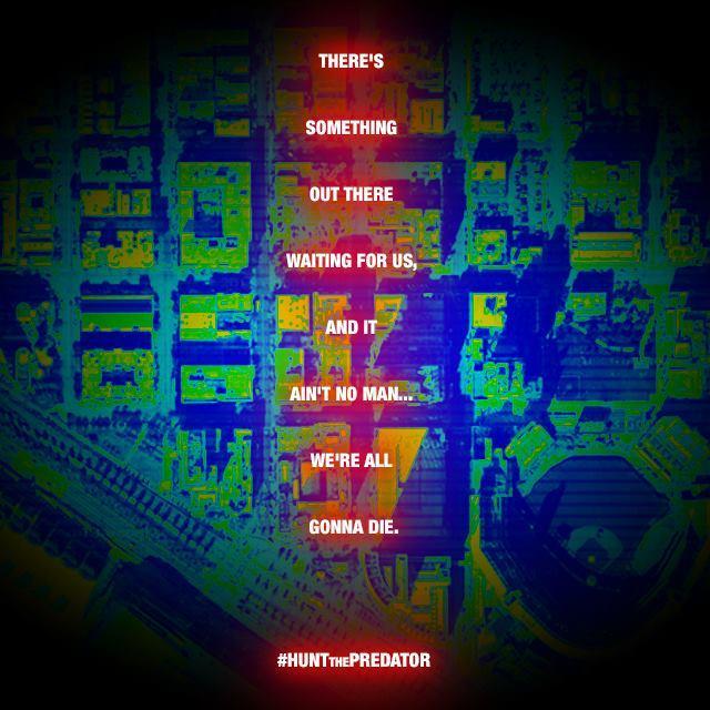 """Teaser Póster de """"Depredador 4""""."""