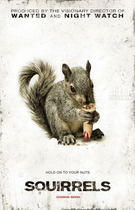"""Póster de """"Squirrels""""."""