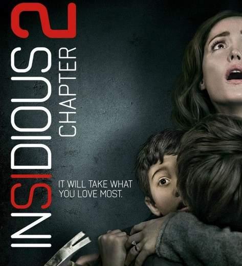 "Póster de ""Insidious 2""."