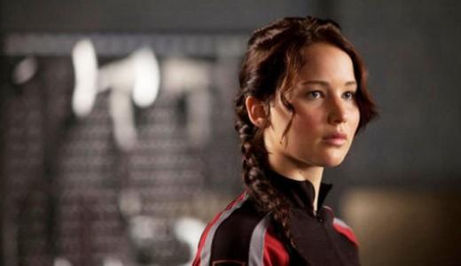 "Jennifer Lawrence en ""Dos Tontos muy tontos 2""."
