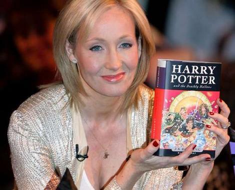 "J.K. Rowling. ""Harry Potter""."