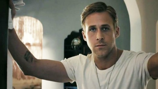 Ryan Gosling Christian Grey.