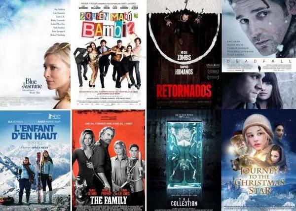 Estrenos de cine 15 de noviembre de 2013