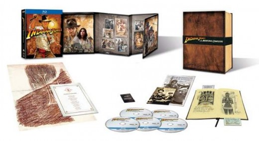 Indiana Jones: Las Aventuras Completas en Blu-ray