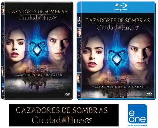 Cazadores de Sombras: Ciudad de hueso. Concurso DVD