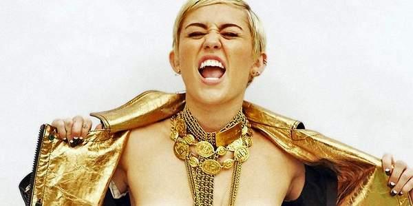 El Topless de Miley Cyrus