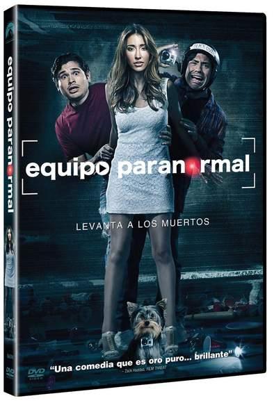 Carátula DVD Equipo Paranormal