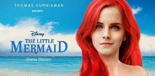 Emma Watson será La sirenita