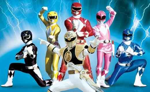Nueva película de los Power Rangers